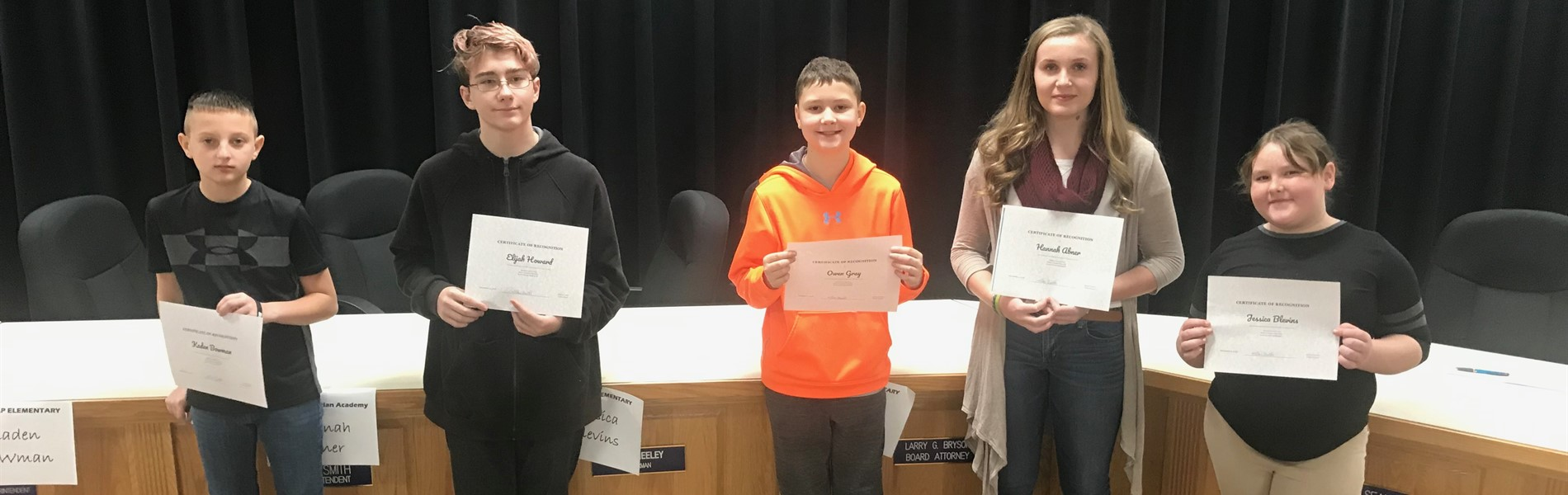 County Spelling Bee