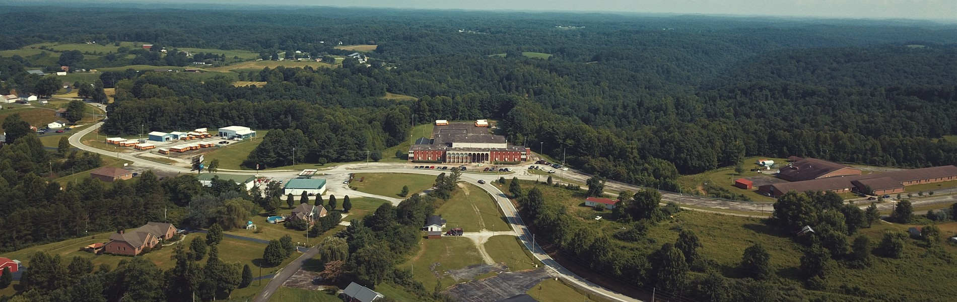 Aerial View of Jackson County Board of Education