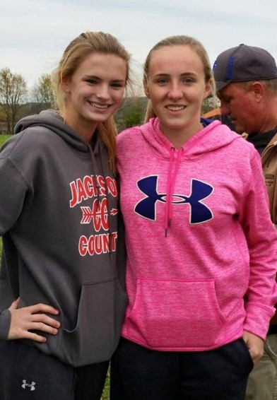 Congratulations to Alisa Bowling 21:56 (2nd overall) and Bailie Wilson 26:17 (7th overall) in the Cross-Country Regional Tournament.  Both girls qualified for the State Championship which will be held this Saturday at the Kentucky Horse Park.