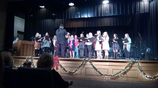 Holiday Concert at JCHS Chorus