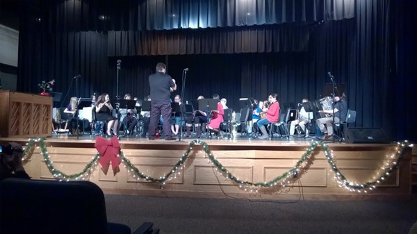 Holiday Concert at JCHS Band