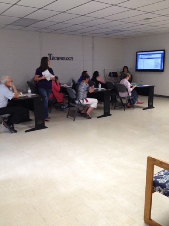 Promise Neighborhood and Jackson County Public Schools hosted an Infinite Campus Parent Portal Workshop on Wednesday, August 25th.  Parents were given a demonstration on accessing grades, attendance and assignments.