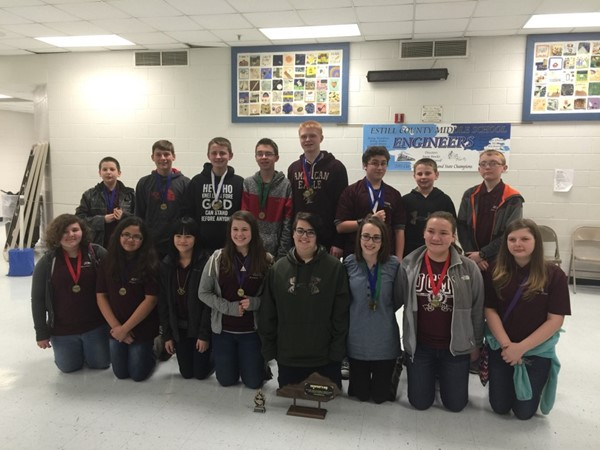 Congratulations to the Jackson County Middle School for winning the 2016 Governor's Cup District Tournament. Overall the Jackson County Middle School won First Place, as well as, winning the Katherine Hume Sportsmanship Award!