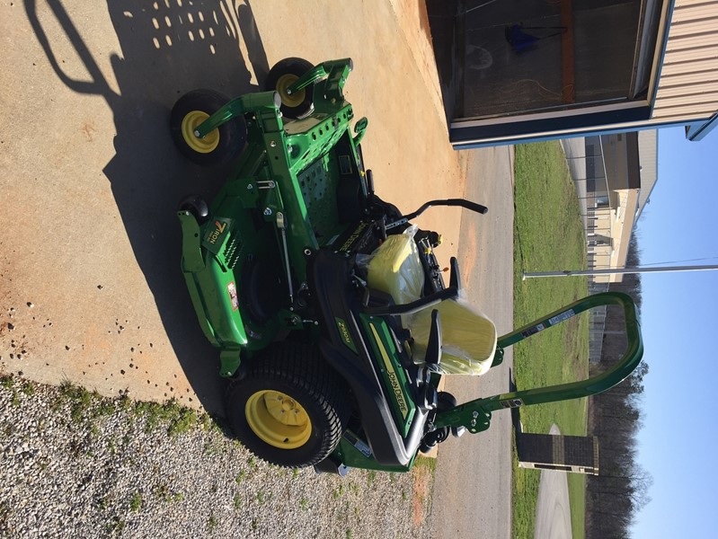 "We declared two of our older mowers as surplus property and were fortunate enough to be able to purchase a new John Deere Z930M 60"" Zero Radius Mower."