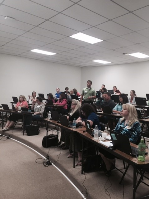 On Wednesday, August 5, 2015, Jackson County Public Schools hosted a Microsoft IT Academy Training.  The training was attended by individuals from 30 schools around the state and representatives from the Kentucky Department of Education.