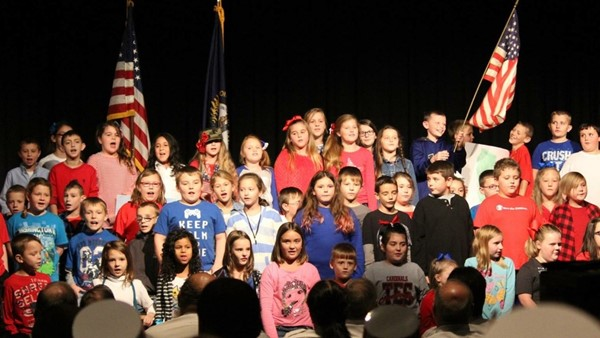 Veteran's Day Celebration held on Wednesday, November 11, 2015 at the JCHS.