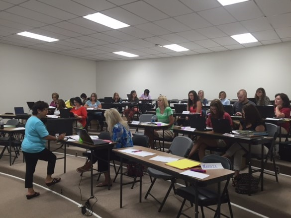 Pearson – This is our math initiative training for grades K – 8.