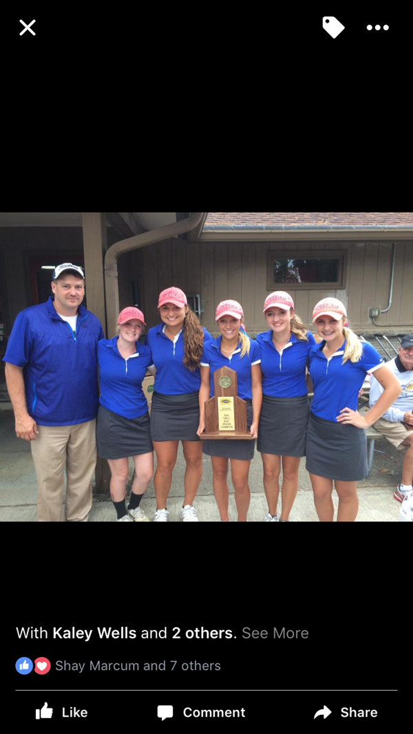 Congratulations to the Jackson County High School Girls' Golf Team.  For the first time in school history, the JCHS Girls' Golf Team won the 9th region tournament at Burnside Island State Park, shooting a 330 team score.