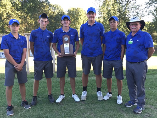 Congratulations to the Jackson County High School Generals Boys' Golf Team on their Runner-Up finish in the 10th Region Golf Tournament played Tuesday, Sept. 27th at Eagles Nest Golf course in Somerset, Kentucky.