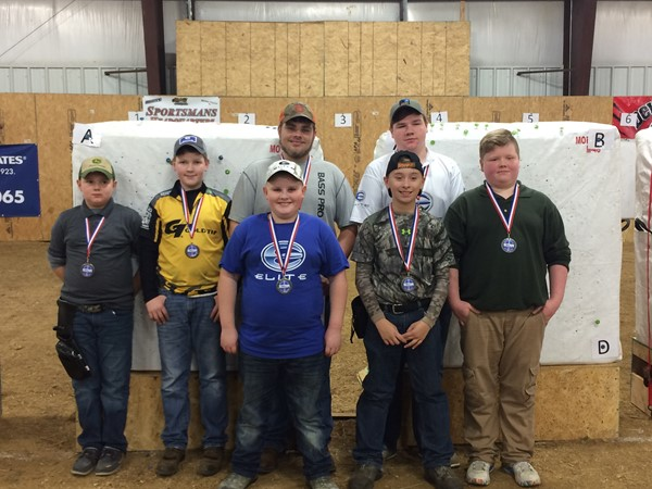 JC Nock High Archery Team went to Owensboro and competed in their first indoor regional tournament of 2017.  We took 13 kids and competed against  175 other kids from across the state.  Of our 13 kids that competed, 7 placed in the top 3 - receiving metals.