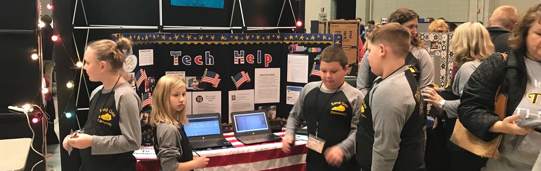 Sand Gap students at STLP Regional Competition