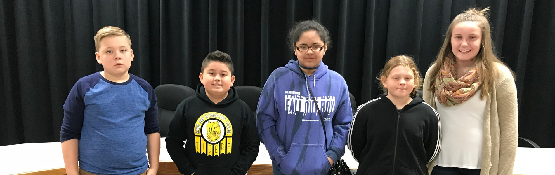 Jackson County Spelling Bee Winners