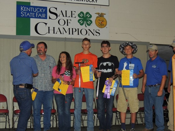 Congratulations to the Jackson County High School 4-H Land Judging Team for once again being the State Land Judging Champions at the Kentucky State Fair.